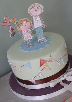 Charlie & Lola cake