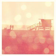beach sunset photo Seaside Memories Santa Monica by sixthandmain