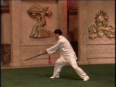 Chen Zhenglei demonstrates the Tai Chi Straight Sword form from the Chen family of Tai Chi Chuan.