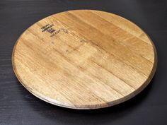 Tabletop Lazy Susan Server - Wine Barrel Lazy Susan by Oak Barrel Company Dang!  This would have been perfect for Whitney's wedding!