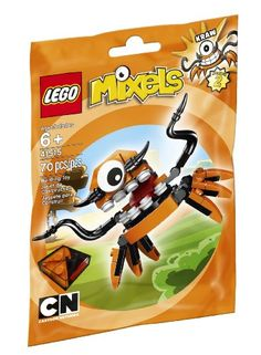 KRAW might be short but the leader of the orange tribe of Flexers which lives in the remote Rubberlands is one confident character. Claiming to be the smartest Mixel in the world KRAW loves to chal...