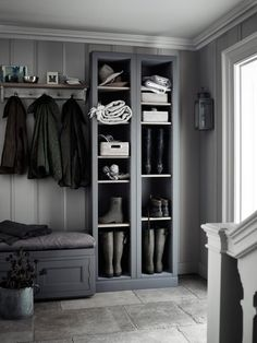 Shoe Storage Ideas: Most Simple & Ergonomic Hallway Solutions - http://homeklondike.site/2017/06/19/shoe-storage-ideas-most-simple-ergonomic-hallway-solutions/