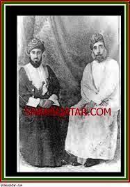 Left H.M Sultans left Said bin Taimuir Al Said right his father H.M Taimuir bin Faisal bin Turki Al Said.