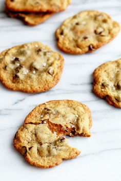 Salted Caramel Chocolate Chip Cookies | Grandbaby Cakes