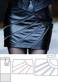 Skirt design...♥ Deniz ♥
