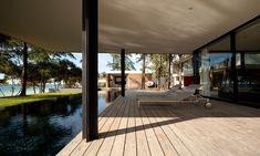 deck, pool, trees, beach, ocean...ahhh  :)
