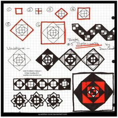 How to Draw Tangle 05 Spixworth quaddles-roost by Quaddles-Roost.deviantart.com on @deviantART