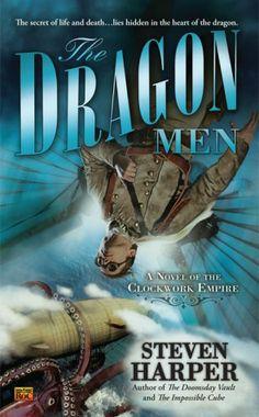 """Cover art for """"The Dragon Men"""""""