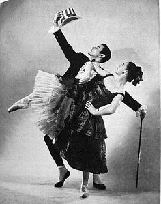 Patricia Wilde and Frank Hobi in Ruthanna Boris. 'Cakewalk.' 1951. Photo: Walter Owen.