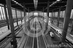 Berlins old railway station Germany.