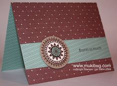Masculine Boho Background by abstampin - Cards and Paper Crafts at Splitcoaststampers