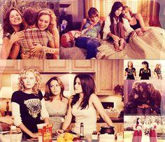 Sophia Bush (Brooke Davis-Baker) , Bethany Joy Lenz (Haley James-Scott) , & Hilarie Burton (Peyton Sawyer-Scott) - One Tree Hill