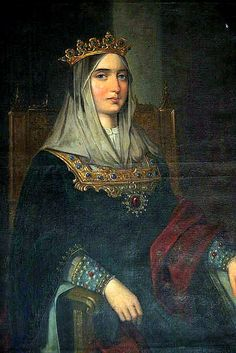 Isabel of Castile; Renaissance Queen of Spain; wife of Ferdinand II, mother of Juana of Castile and Catherine of Aragon.