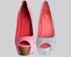 The Singing Sunflower: DIY Glitter Shoes