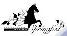 Horse Show Central ad logo for upcoming show – Des Moines Springfest, Apr 24-27, Iowa . View details ww.horseshowcentral.com.