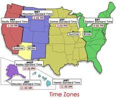 Eastern Time Zone Map MIINOHWVVANCSCGAFLNYPADLNJDE - Free printable us time zone map with state names