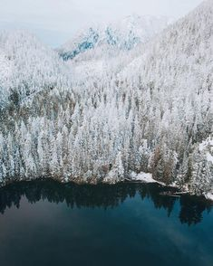 Unnamed Lake British Columbia by alexstrohl