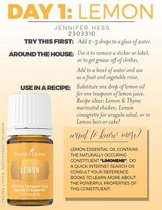 young living essential oils lemon - Google Search
