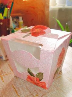 Декорирование коробочки из-под конфет http://dcpg.ru/mclasses/rafaello/ decoupage art craft handmade home decor DIY do it yourself tutorial