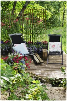Outdoor Life, Outdoor Gardens, Outdoor Living, Outdoor Furniture, Outdoor Decor, Beautiful Gardens, Sun Lounger, Backyard, Balconies