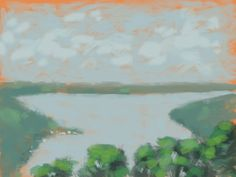 Skaneateles Lake #Procreate