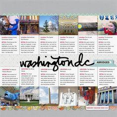 Washington DC, abridged
