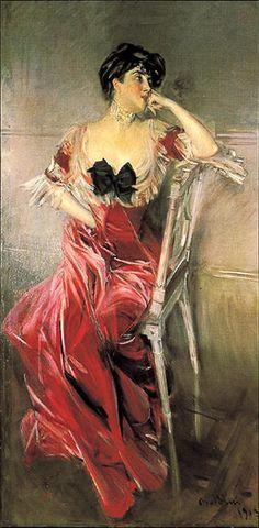 Giovanni Boldini, Miss Bell, 1903. Galleria d' Arte Moderna, Genova.