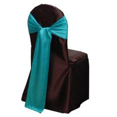 Teal Green Satin Chair Cover Sash for a vanity, such as the one nearby. Green Satin, Teal Green, Quince Decorations, Party Supply Store, Chair Sashes, Summer Wedding, Most Beautiful, Wedding Decor, Wedding Ideas