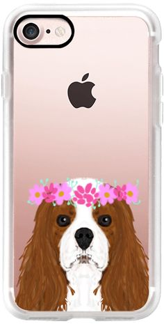 Casetify iPhone 7 Classic Grip Case - Cavalier King Charles Spaniel owners unique gift cell phone case  by Pet Friendly #Casetify