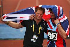 Prince Harry Photos - Invictus Games: Athletics - Zimbio