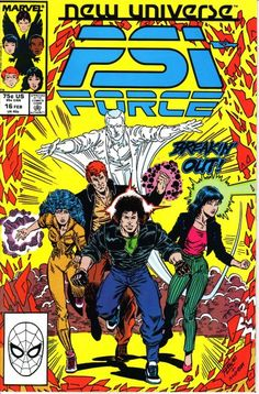 PSI-Force # 16 by Ron Lim & Al Milgrom