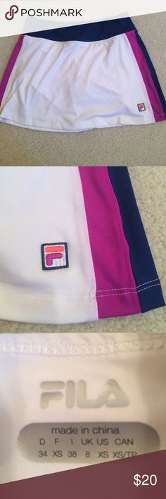 Brand new athletic/tennis skirt Super cute and comfy skirt Fila Skirts