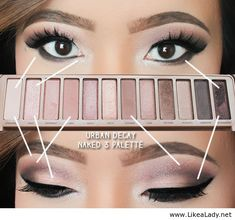 Urban Decay Naked 3 Smoky Eye Look