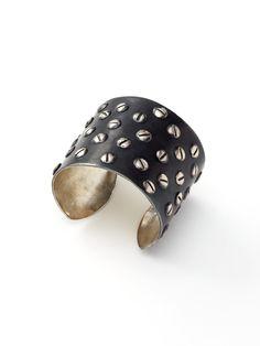 Screwed. (Tom Binns | Large Multi Screw Cuff Bracelet by Tom Binns)