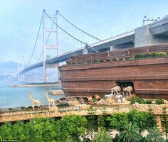 Noah's Ark in Hong Kong   Life In a House of Testosterone