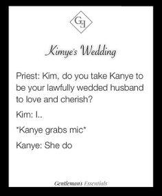 Kimye's Wedding