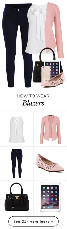 Chic yet Elegant for the Work Place by cloudybooks on Polyvore