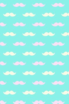 Pastel Mustaches
