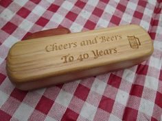 Handmade Wooden Kazoo  Gifts  Cheers and by SpuzzoWoodworking
