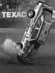 Anders Nordstedt - Saab rallycross crash - Brands Hatch | Flickr - Photo Sharing! Sport Cars, Race Cars, Sax Man, Old Vintage Cars, Saab 900, Ford Escort, Car Crash, Koenigsegg, Dream Cars