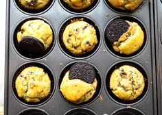 Banana Oreo Muffin