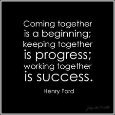 Work Quotes : together Henry Ford quote John Maxwell, Positive Quotes, Motivational Quotes, Inspirational Quotes, Lds Quotes, Farm Quotes, Place Quotes, Wisdom Quotes, The Words