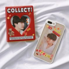 Image in bts cases ♡ collection by lyn ✿ on We Heart It Cute Cases, Cute Phone Cases, Iphone Cases, Kpop Phone Cases, Diy Phone Case, Airpods Apple, Kpop Diy, Aesthetic Phone Case, Kpop Merch