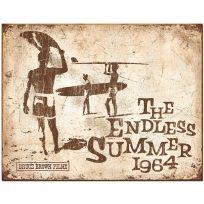 Endless Summer 1964 Surfing Movie Tin Sign