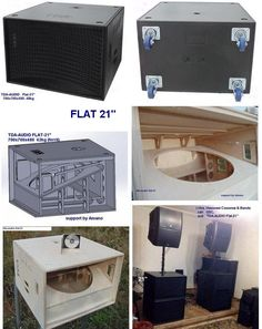 Hi im looking for some mini scoop plans Edited by Pro Audio Speakers, Small Speakers, Horn Speakers, Subwoofer Box Design, Speaker Box Design, Woofer Speaker, Speaker Plans, Sound Stage, Audio Design