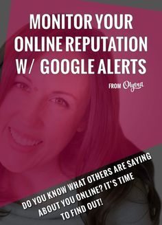 Blogging | How to Blog | Google Alerts once saved me from getting my product stolen.  READ THIS to find out how to set up yours!