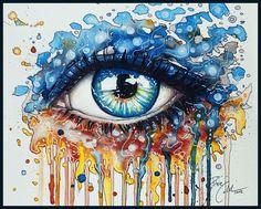 How to draw a Splash Eye, via YouTube.