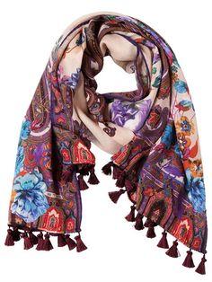paisley jacquard scarf - Pink & Purple Etro XlBBI