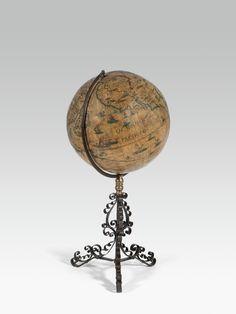 Globe, Design Ideas, Antiques, Big, Stuff To Buy, Antiquities, Speech Balloon, Antique, Old Stuff