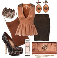 """""""Madame Cocoa"""" by styl-i-sique on Polyvore"""